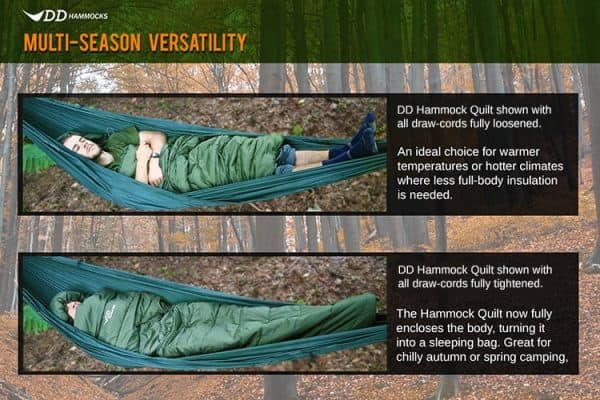 Dd hammock quilt