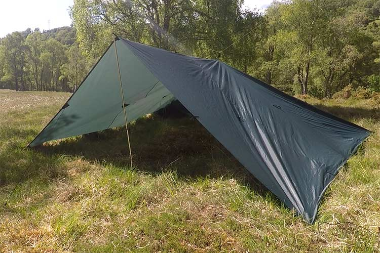 DD Tarp 5x5 - Olive Green - Wood to Water Outdoors ...