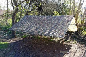 DD hammocks 3x3m tarp in MC multicamo