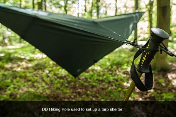 Dd hiking pole tarp