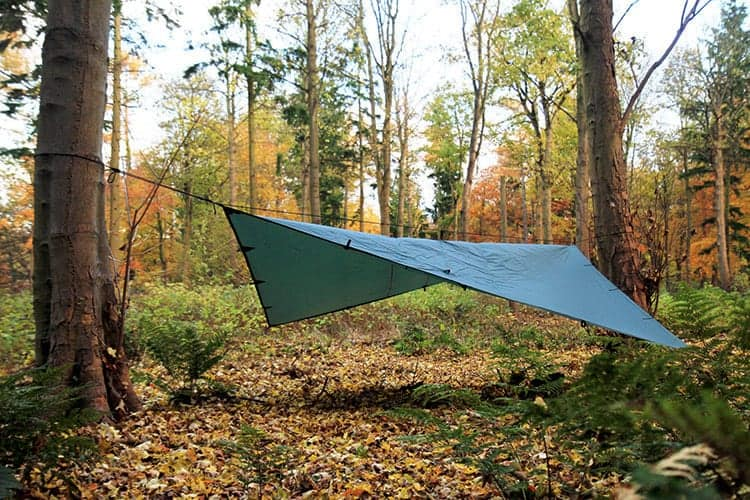 DD Tarp 4x4 Forest Green - Wood to Water Outdoors Wild ...