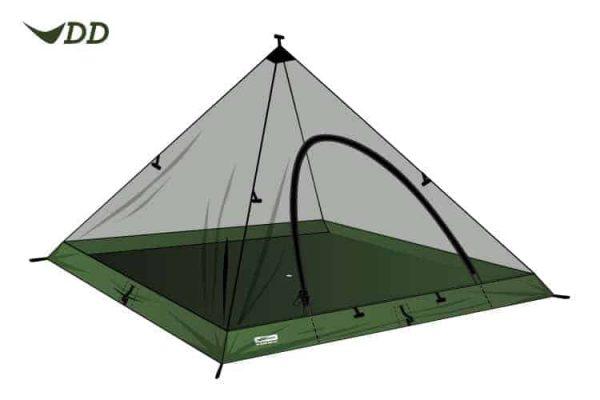 Dd hammocks pryamid mesh tent