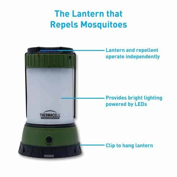 Scout mosquito repellent camp lantern