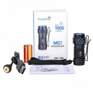 Trust Fire MC1 Rechargeable EDC Flashlight