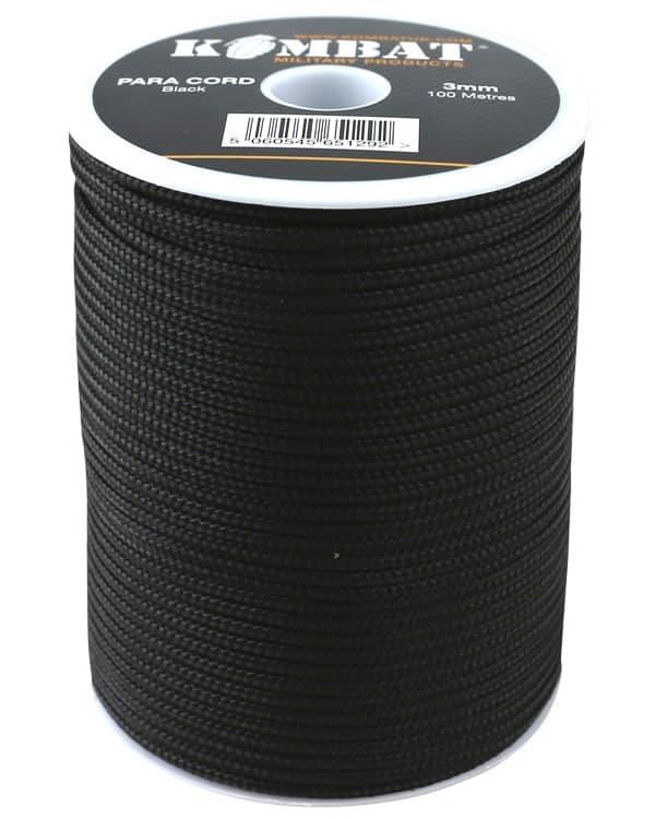 Para cord 3mm on 100m reel