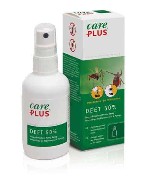Care plus 50% deet insect repellent