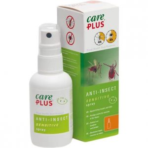 care plus anti insect sensitive icaridin spray