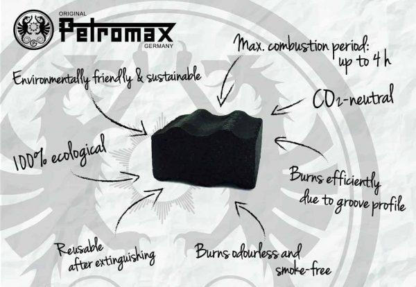 petromax cabix plus- briquettes for dutch oven