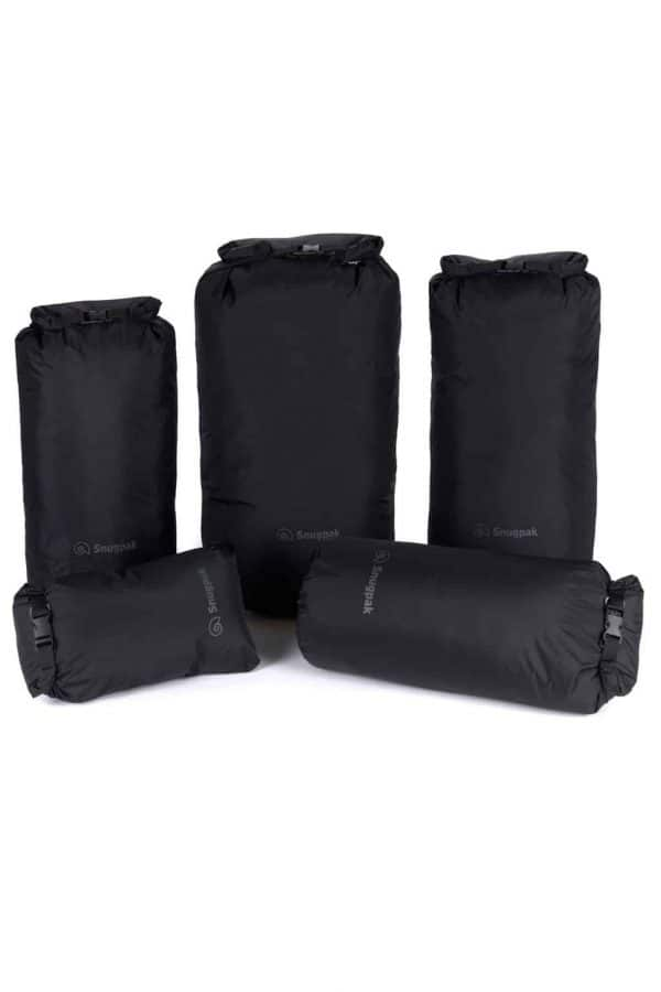 Snugpak dri-saks black (various sizes)