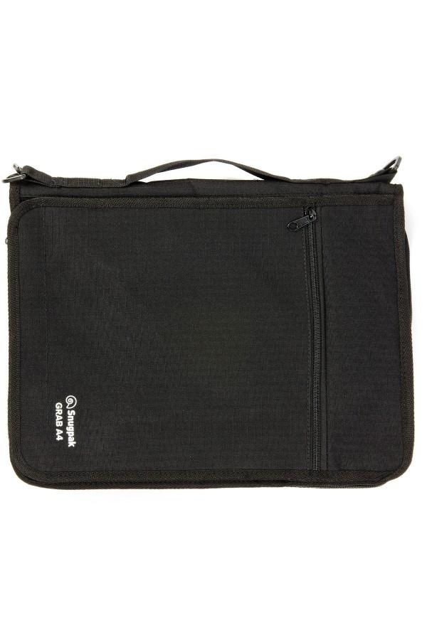Snugpak grab a4 - black document / stationery folder