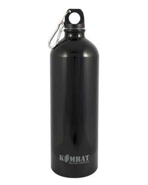 Kombat UK Aluminium Water Bottle 1000ml - Black