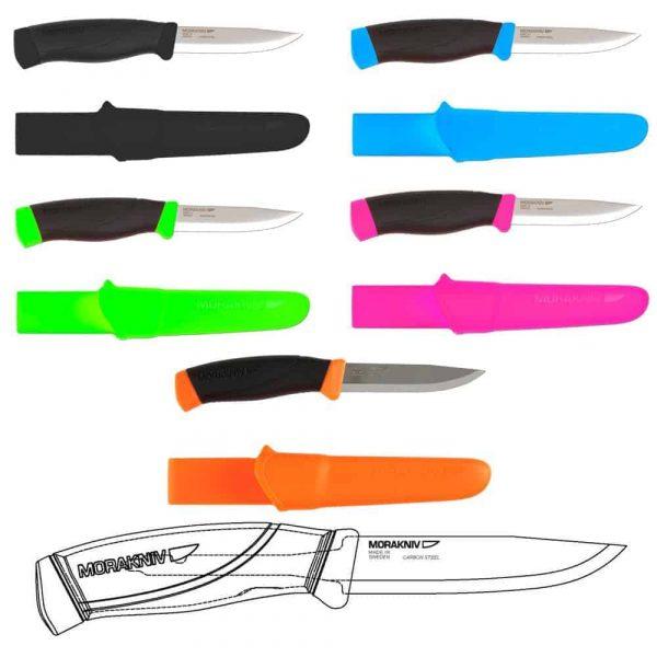Morakniv companion colour knife