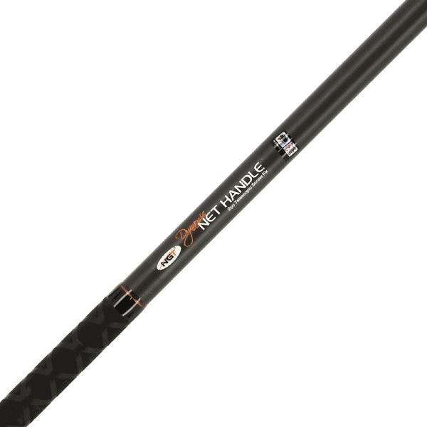 Ngt specimen dynamic screw-fix net handle - 2m, 2 section carbon