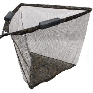 "NGT 42"" Specimen Dual Net Float System - Camo Mesh with Metal 'V' Block and Stink Bag"