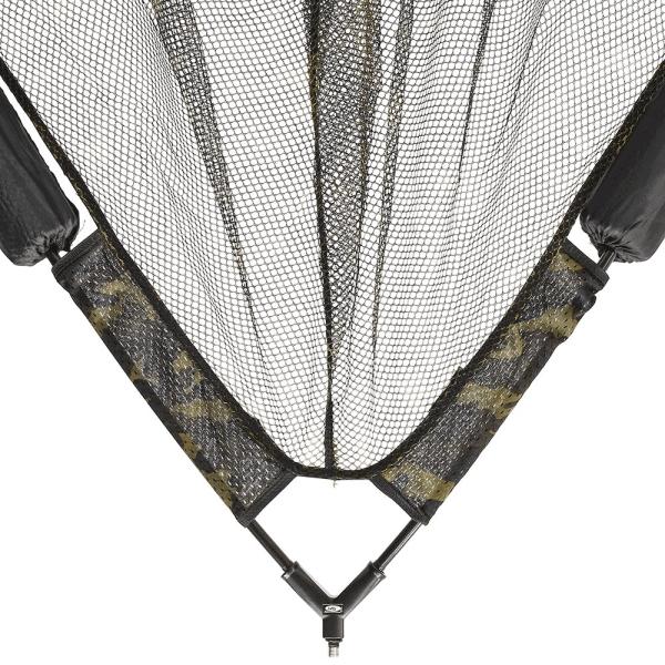 "Ngt 42"" specimen dual net float system - camo mesh with metal 'v' block and stink bag"