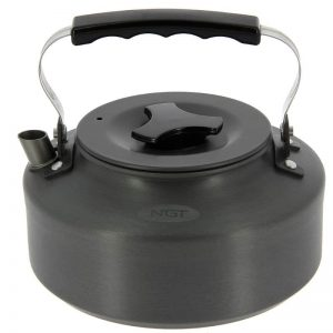 NGT Aluminium Outdoor Kettle - 1.1 litre Gun Metal