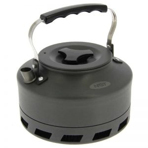 NGT Aluminium Outdoor Fast Burn Kettle - 1.1 litre Gun Metal