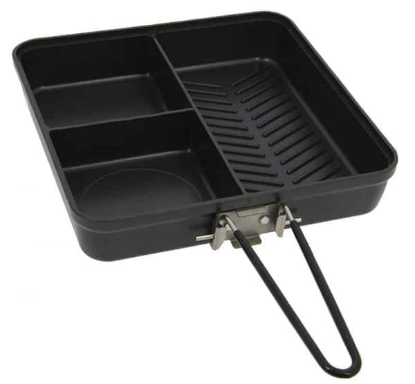 NGT Compact 3 Way Outdoor Pan with Lid and Folding Handle
