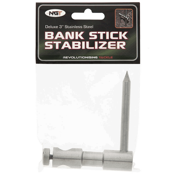 NGT bank stick Stabiliser - Stainless Steel