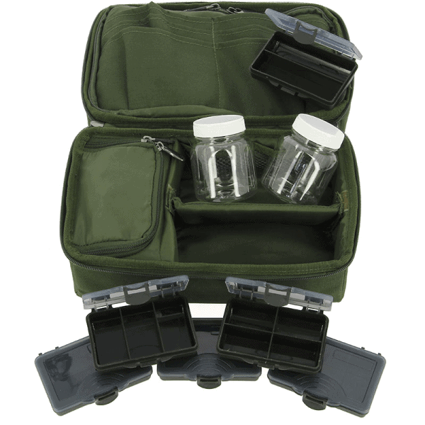 Ngt total carp rig system - multi pocket, sleeve and compartment (850)