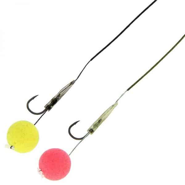 Ngt dynamic twin pack hair rigs size 4 micro barb wide gape