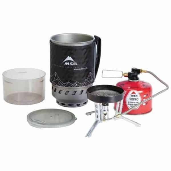 Msr windburner® duo stove system group cooking