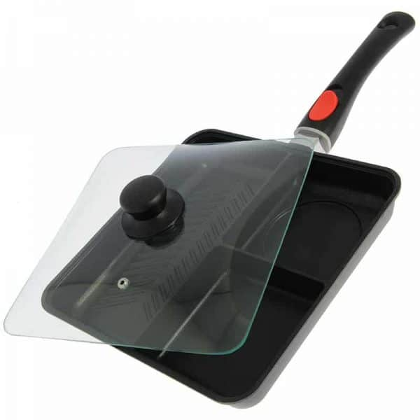 NGT 3 Way Outdoor Frying Pan With Lid and Removable Handle