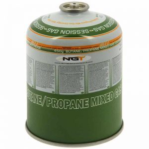 NGT 450g Butane / Propane Gas Canister Fits Jetboil / MSR