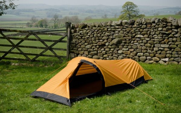 Snugpak journey solo 1 man tent - sunburst orange