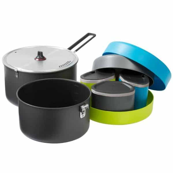 Msr flex™ 3 system 3 person cook set