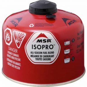 Msr® isopro™ fuel / gas canister 227g
