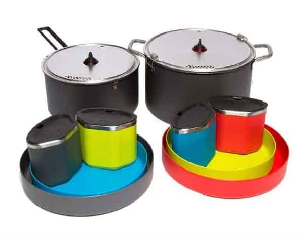 MSR Flex™ 4 Cook Set - Complete set