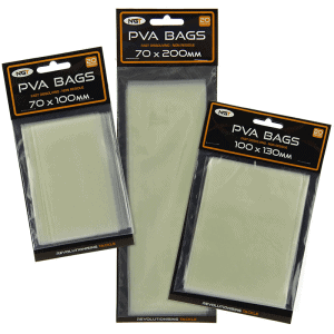 NGT PVA Bags x 20 (Various sizes)