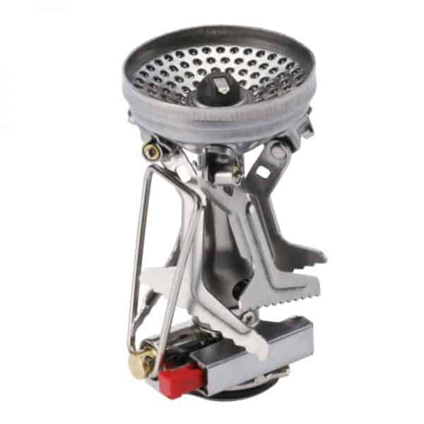 Amicus amicus with stealth igniter backpack stove