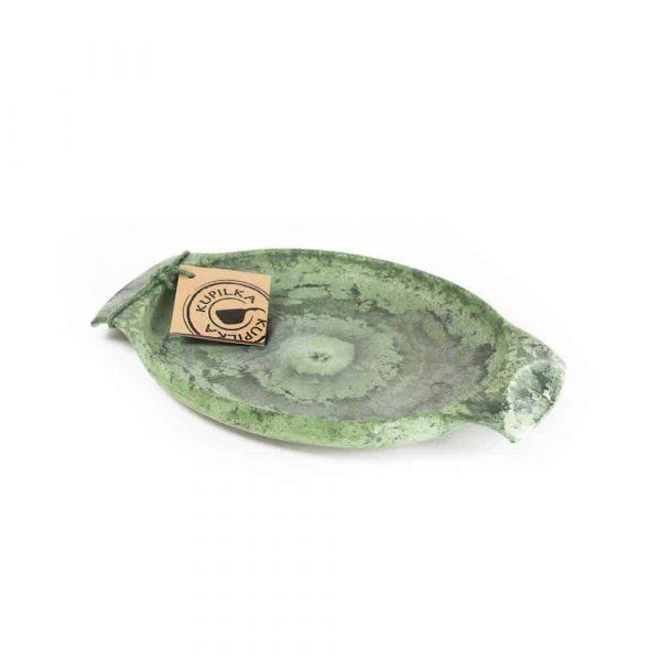 Kupilka 44 eco plate 440ml conifer green