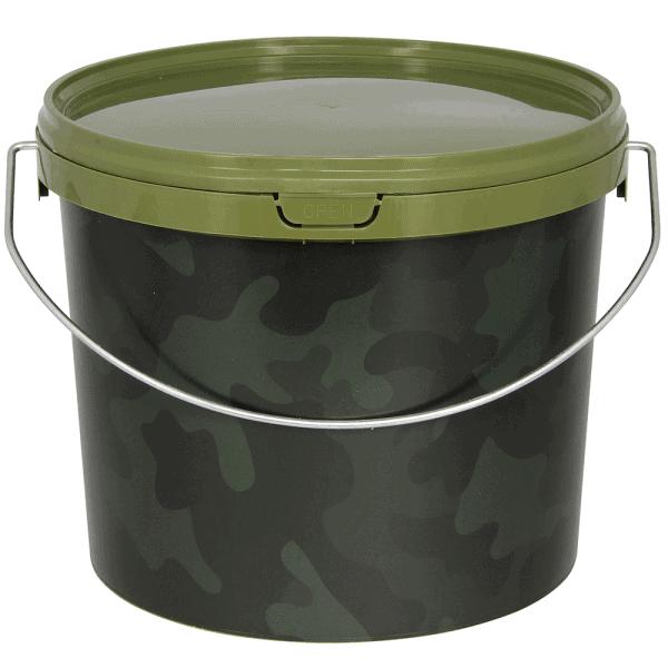 NGT Camo 3 Litre Round Bucket
