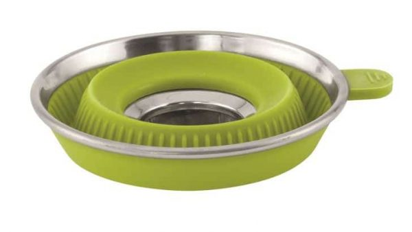 """Outwell 'collaps"""" collapsible coffee filter holder lime green"""