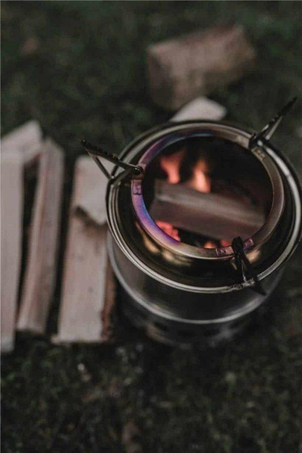 Robens lumberjack wood stove