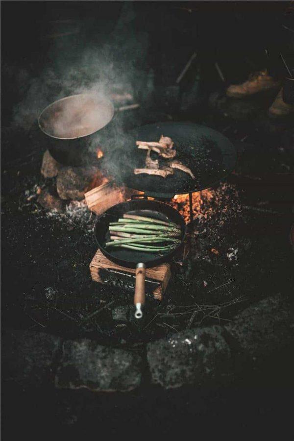 Robens tahoe cast iron pan 27cm