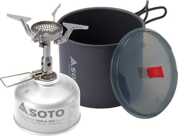 Soto new river pot + amicus without igniter