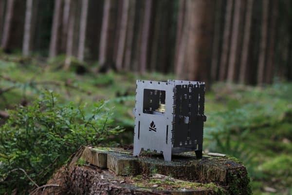 Be bushbox xl titanium outdoor cooker