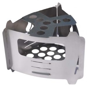 BE Bushbox Ultralight Outdoor Pocket Stove