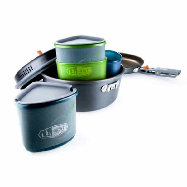 Gsi pinnacle backpacker cook and eat set 2 person