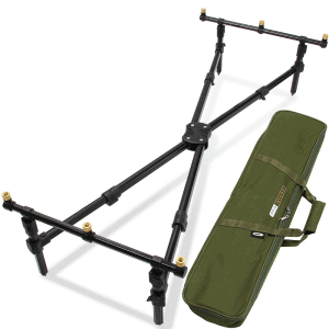NGT Cross Pod - 3 Rod 'Cross Style' Pod with Case
