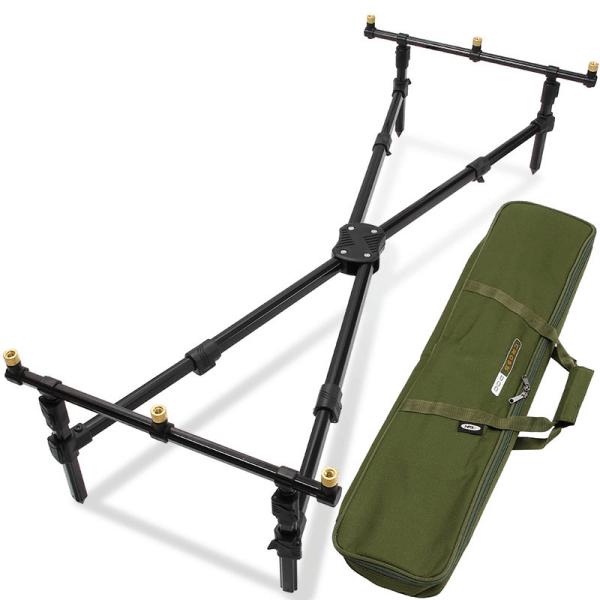 Ngt cross pod - 3 rod 'cross style' pod with case