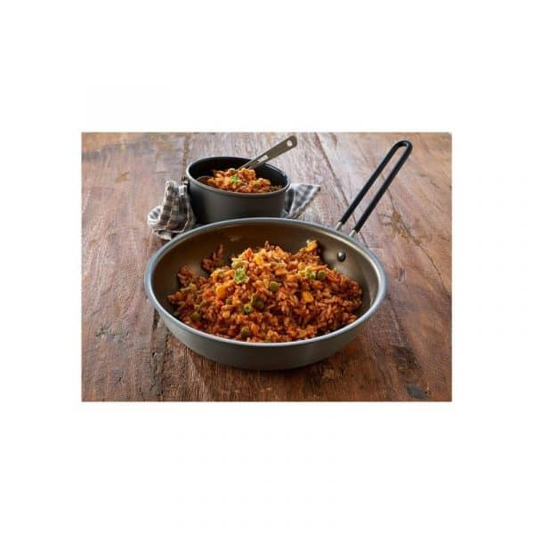 Trek'n eat vegetable jambalaya
