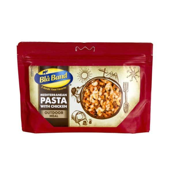 Bla band mediterranean pasta and chicken