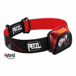 Petzl ACTIK® CORE Headlamp | Torch - Red