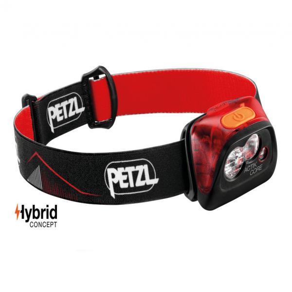 Petzl actik® core headlamp | torch - red