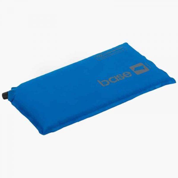 Highlander base self inflate pillow blue